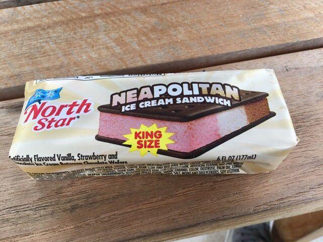 ナポリタンアイスを買ってみた