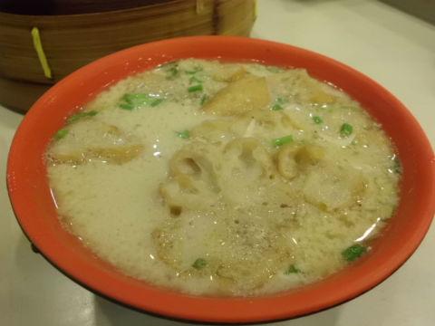 豆乳のスープ