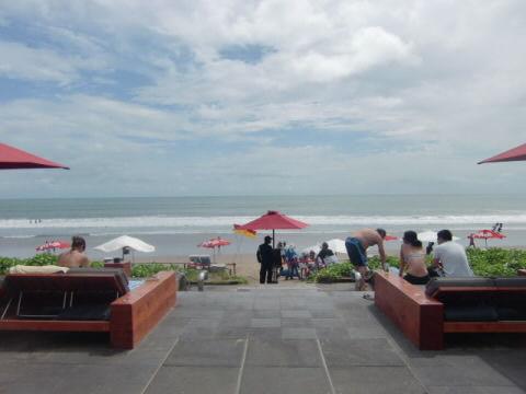 KU DE TAのビーチ