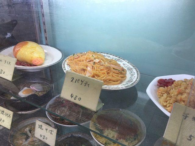 サンプルはスパゲティ