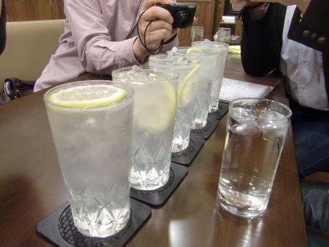 レモンサワー5つ!