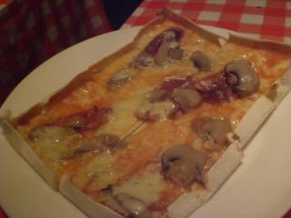 シシリアのピザ