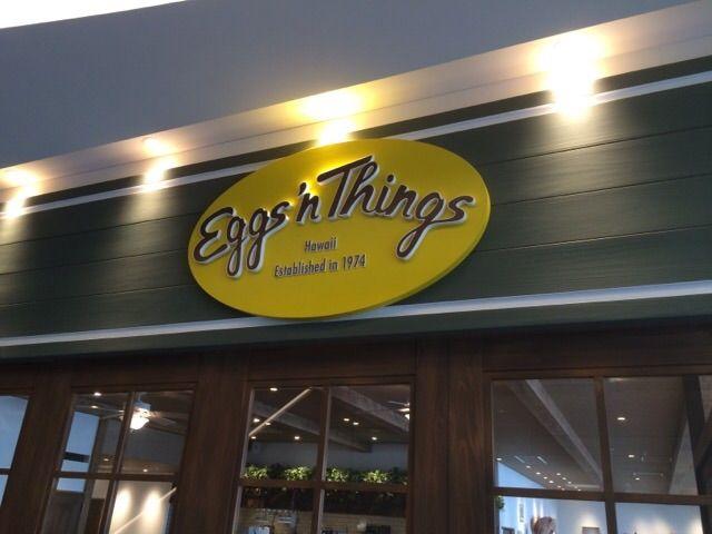 Eggs 'n Thingsの入口