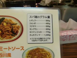 麺の量はこんな感じ