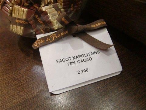 チョコレートのナポリタン!