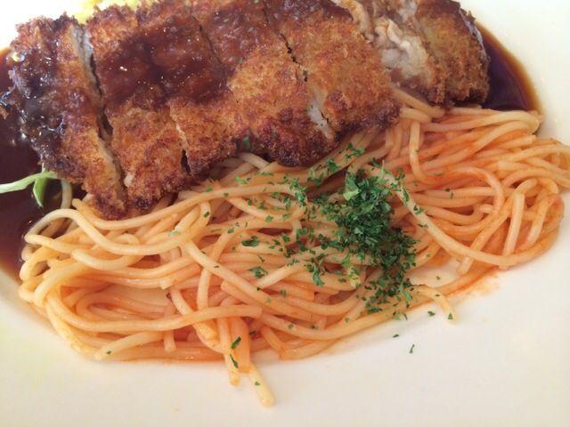 トルコライスのスパゲティ部分