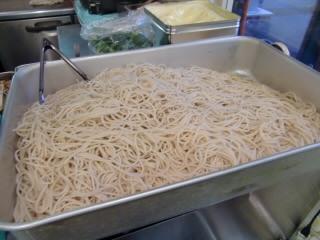 麺がたくさん