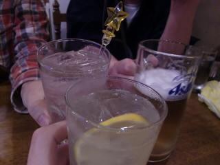 ハピネスで乾杯