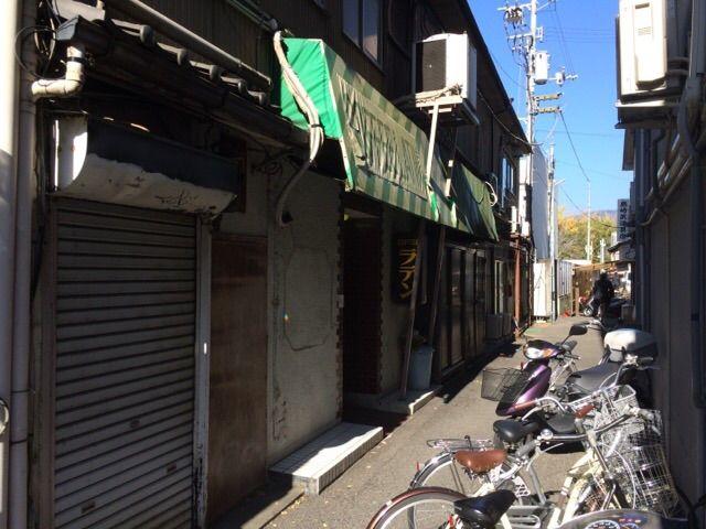 路地裏の喫茶店