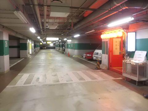 駐車場の先には・・・