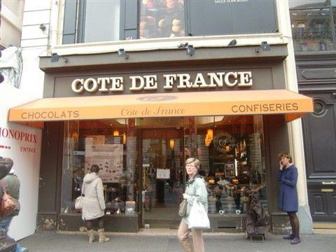 COTE DE FRANCEの外観