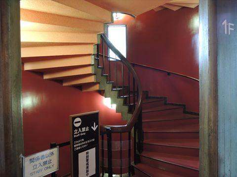 らせん階段!