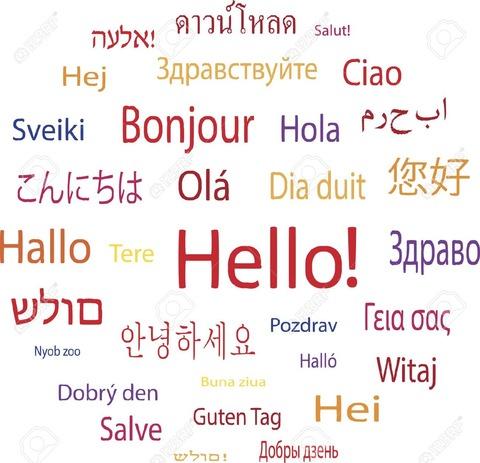 言語の写真