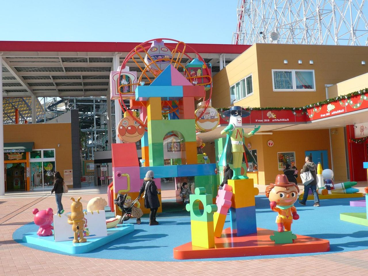 出典:http//livedoor.blogimg.jp. 名古屋アンパンマンミュージアム