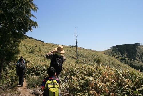奥三界岳 ふれあい登山 026
