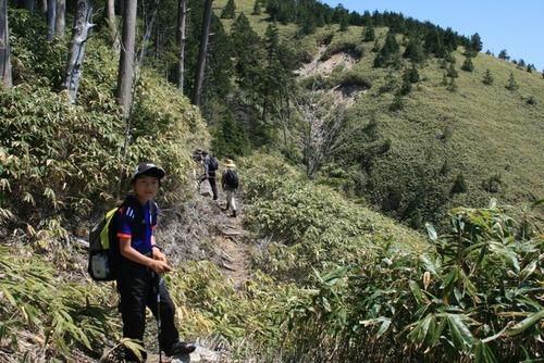 奥三界岳 ふれあい登山 040