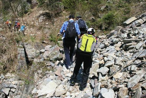 奥三界岳 ふれあい登山 005