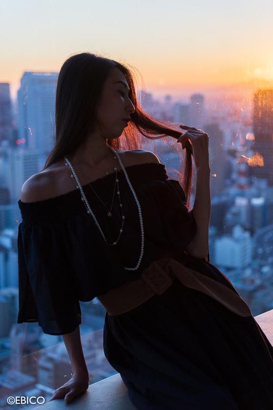 夕暮れに始まる物語【モデル:和田晶子さん】