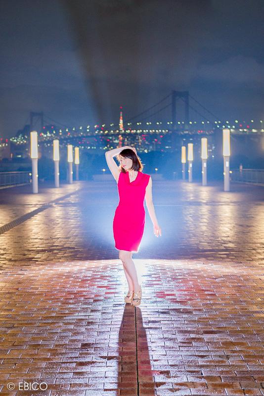 光の道へ【モデル:sawaさん】