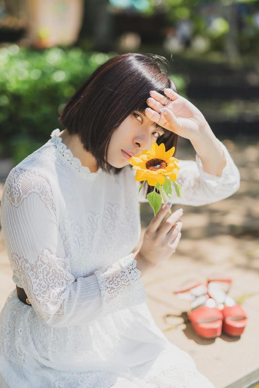 夏風が通り過ぎてく2【モデル:sasaさん】