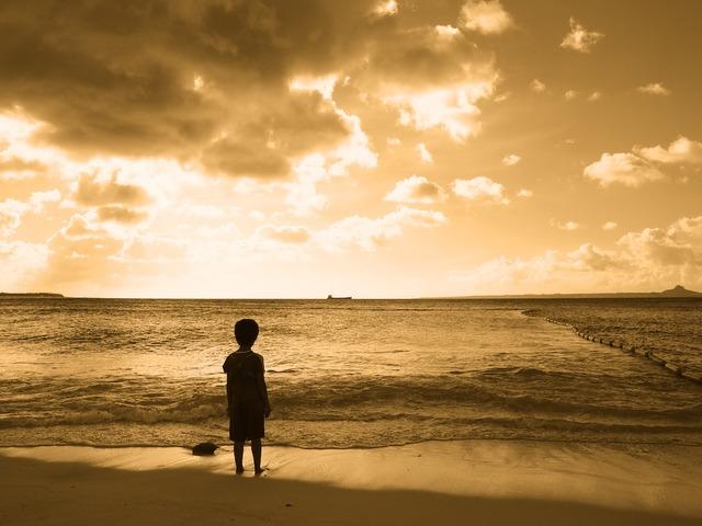 子どもの頃 遠くに行くことだけを夢見てた