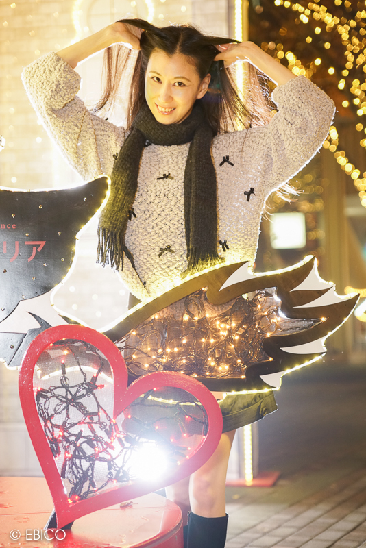 光の国から始まる物語♪1【モデル:和田晶子さん】