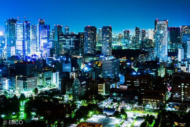 電脳都市東京【東京タワー夜景】