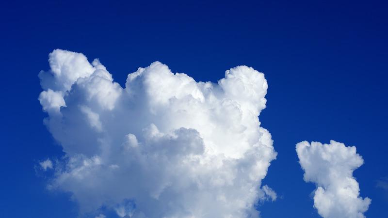 タイムラプスの雲動画をYouTubeにアップしました