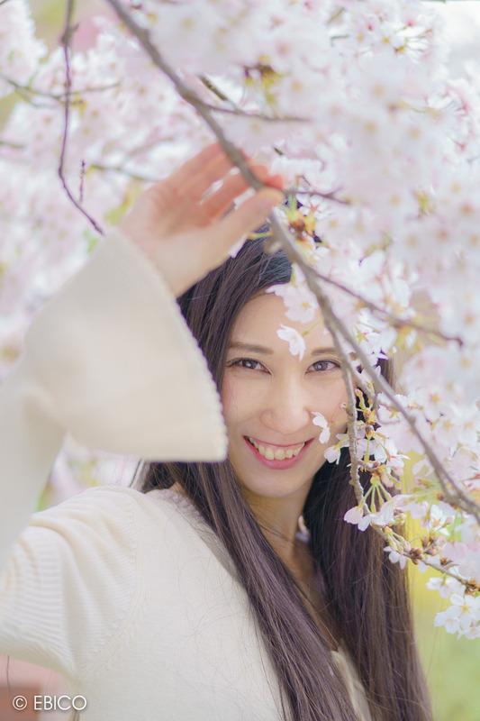 桜色に染まるとき【モデル:和田晶子さん】