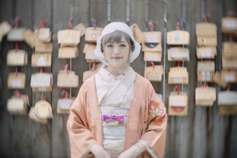 桜が舞い散るころに【モデル:紗千さん】