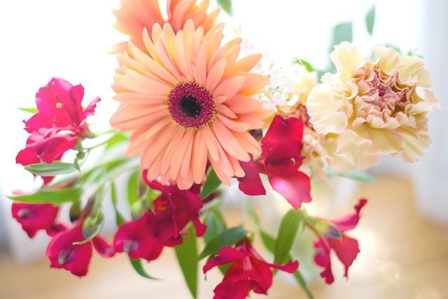 花のある午后