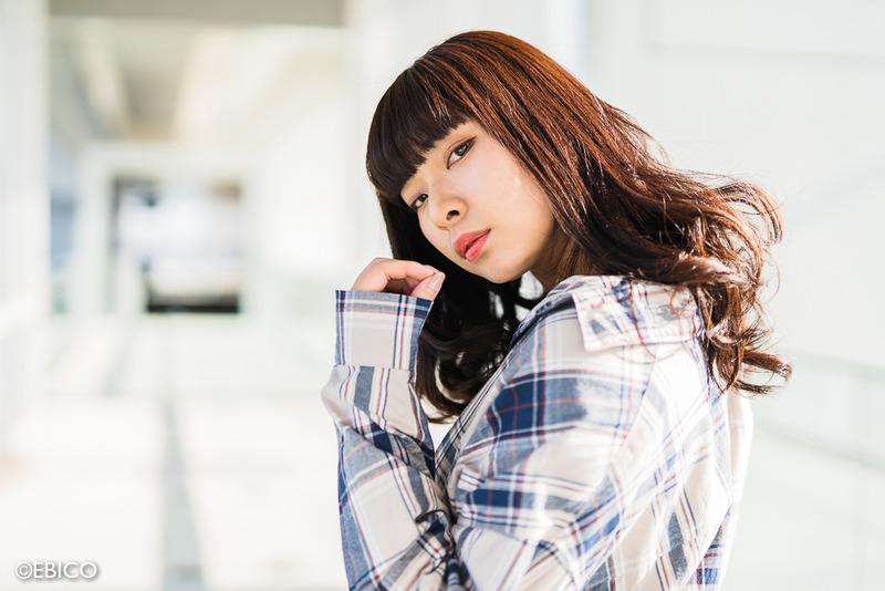 彼女の強い輪郭【モデル:Sasaさん2】