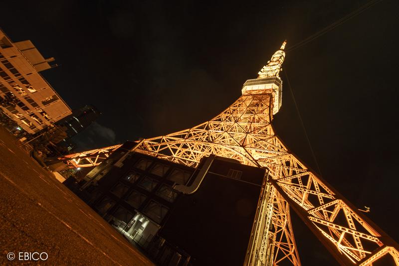 東京タワーのある夜景色♪