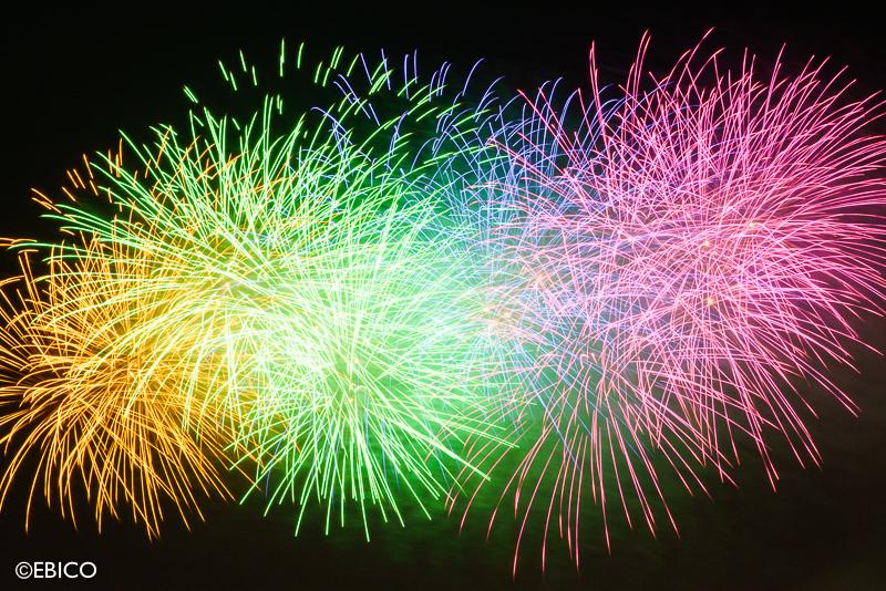 行くなら やっぱり地元の花火大会がいい♪【松戸花火大会イン2017~みんなであげる夢花火~】