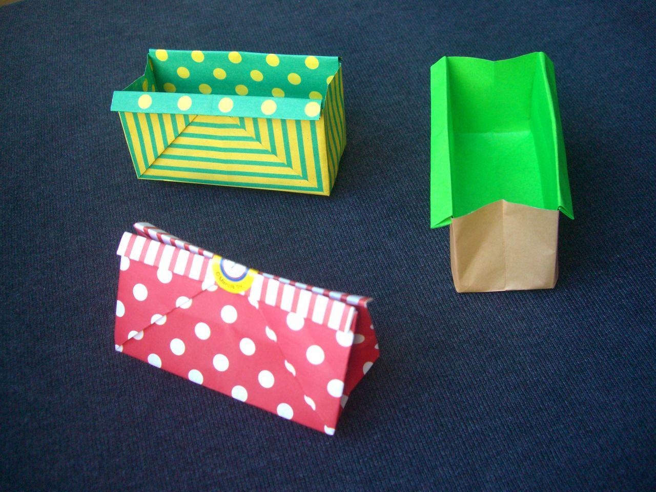 ebisuchachaのブログ : origami おりがみ遊び(長方形の箱) : 長方形 箱 : すべての講義
