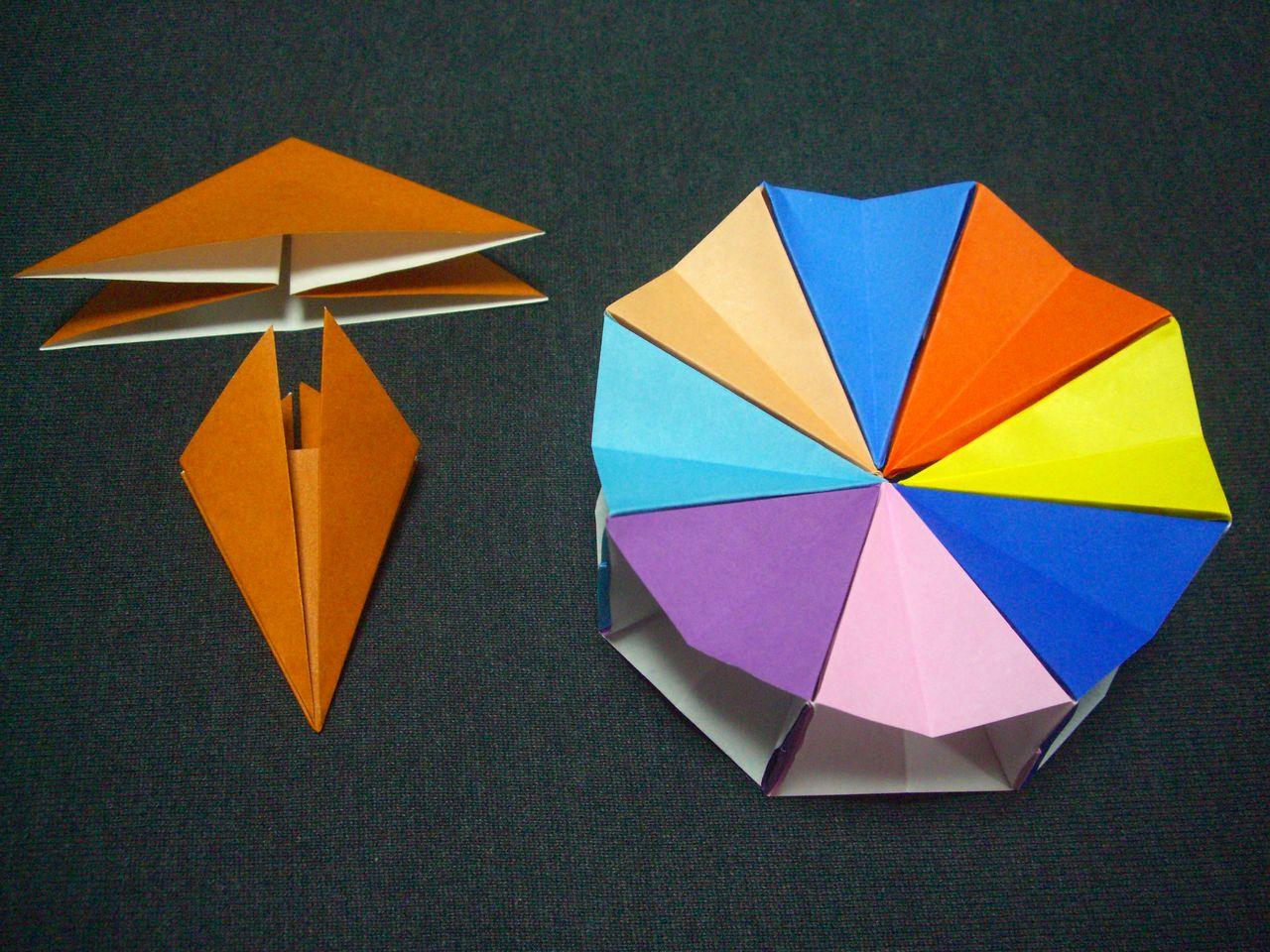 折り紙の 朝顔の折り紙の折り方 : origami 折り紙 : ebisuchachaの ...