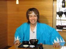 「新選組ゆかりの函館へ」 TEAM-NACSの森崎 博之さんが来られました