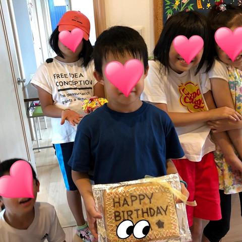 2019.7.26誕生日クッキー