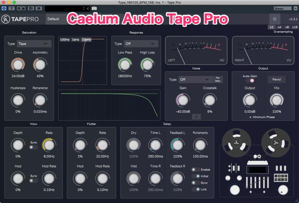 Type 190125 BPM 108 Ins 1 Tape Pro