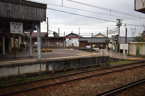 寺田駅-ホーム
