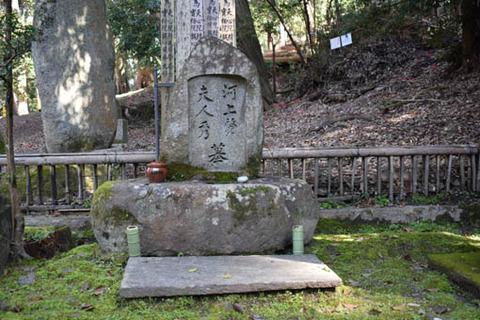 河上肇の墓