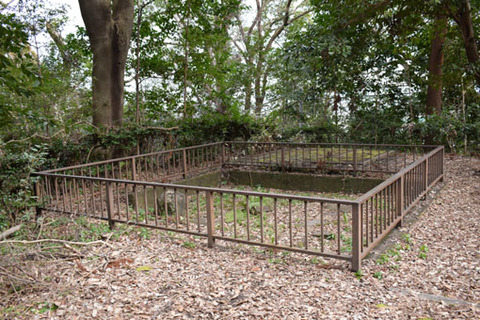 泉坊跡-庭の遺構-1