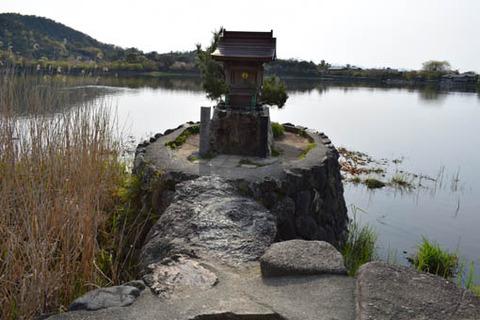 観音寺島-弁財天