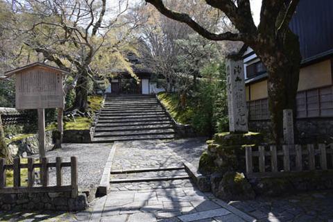 安楽寺-山門