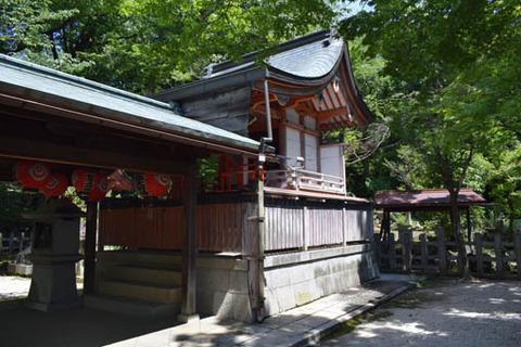 竹中稲荷神社-本殿-2