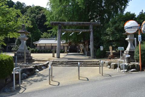 酒殿神社-鳥居