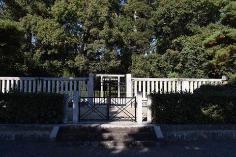 菟道雅郎子の墓