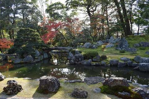 庭園-鶴島