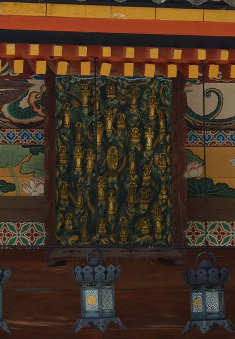 曼荼羅の扁額