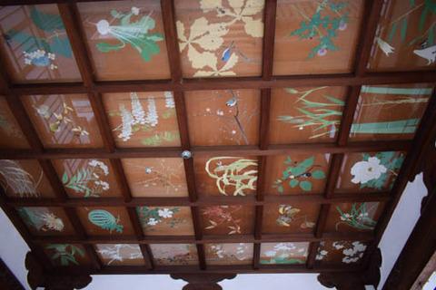 拝殿-天井画